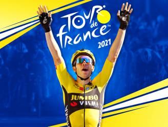 Wout van Aert siert cover van wielergame 'Tour de France 2021'