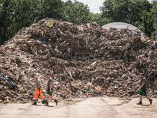 L'Allemagne submergée par des montagnes de déchets et de décombres après les inondations