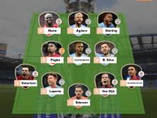 Van Dijk in team van het jaar Premier League