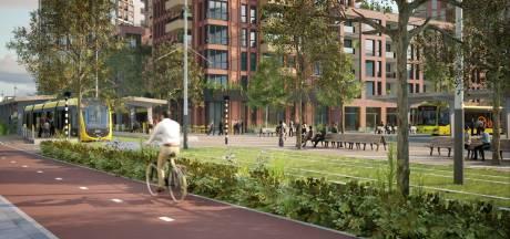 Nieuwegein krijgt 450 woningen en nieuwe bus- en tramhalte in Stationsgebied