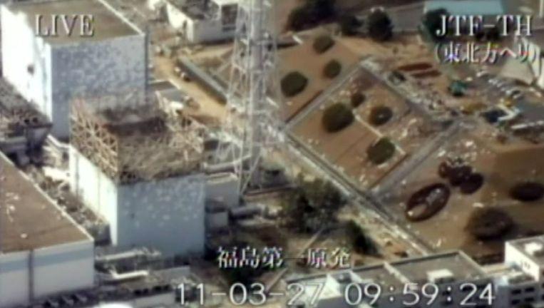Reactor 2 bevindt zich links naast reactor 1. Beeld AFP