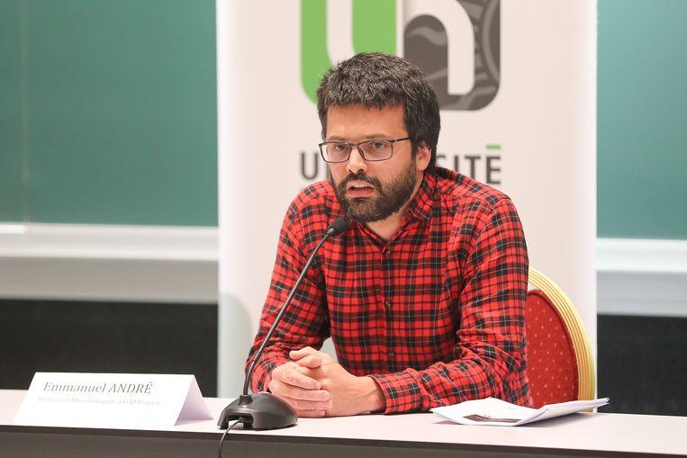 Interfederaal woordvoerder Emmanuel André zal deel uitmaken van de werkgroep. Beeld BELGA