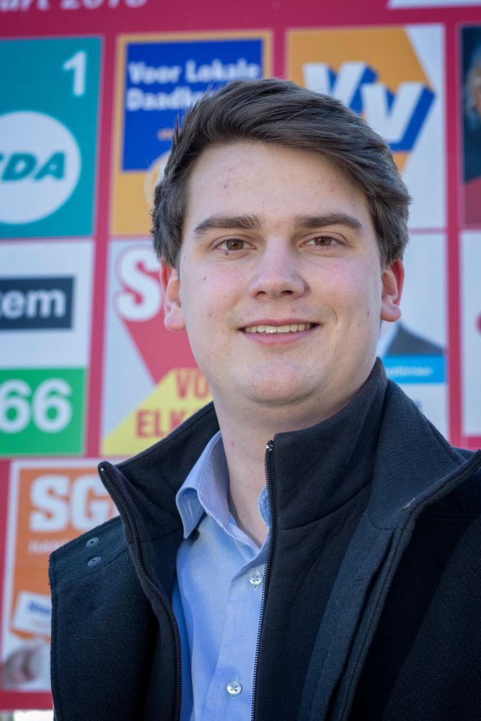 Nick van Egmond (fractievoorzitter D66 in gemeente Kaag en Braassem)