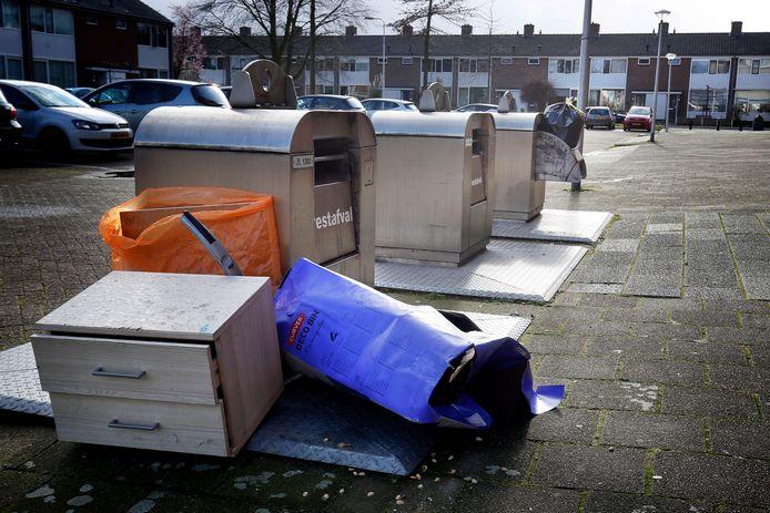 Afvaldump in Leerdam (archieffoto, maart 2020).