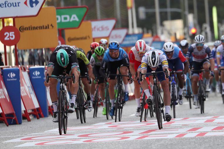 De Ronde van Spanje in november 2020. Beeld EPA