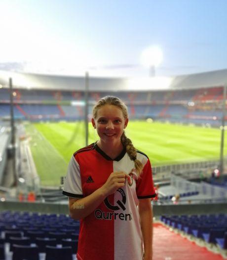 Nijmeegse Alissa ruilt na vier jaar voetballen de Trekvogels in voor haar droomclub Feyenoord
