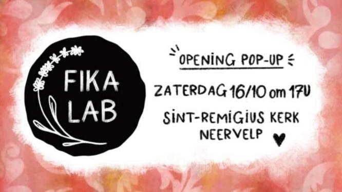 Fika Lab opent pop-up in kerk Neervelp