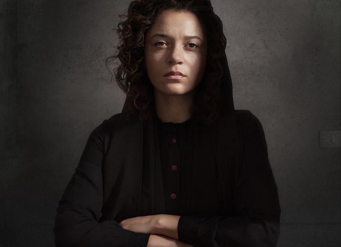 Actrice Jade Olieberg in haar rol als Laura H.