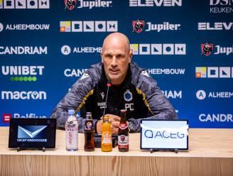 """Philippe Clement verwacht tegen KV Oostende een reactie na de 6-1 in Gent: """"Iedereen was enorm teleurgesteld en dat is goed"""""""