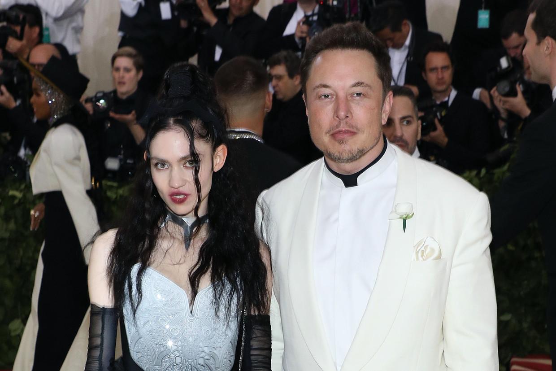 U kent Grimes vast als de levenspartner van de grote bolsjewiek Elon Musk Beeld Getty Images