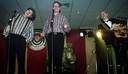De Sjawi's tijdens een optreden op de Lampegatse Vastenaovond