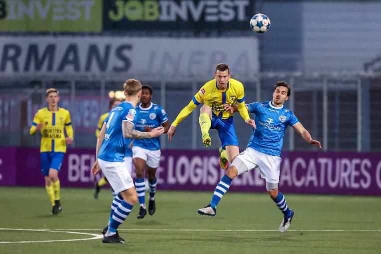 SC Cambuur tegen Den Bosch op 9 april. Beeld Pro Shots / Peter van Gogh