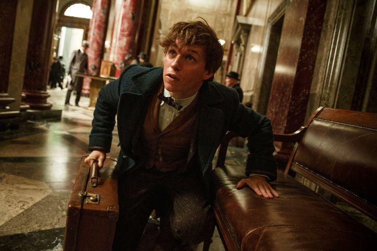 Eddie Redmayne in 'Fantastic Beasts and Where to Find Them', de eerste film in de reeks.