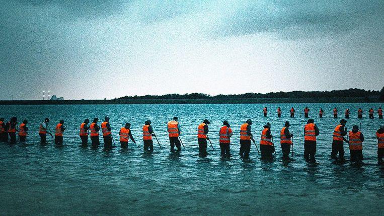 'The Investigation' zoomt in op het indrukwekkende onderzoekswerk dat verricht werd om de dader van de 'duikbootmoord' te klissen. Beeld RV BBC