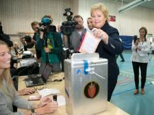 Centrumrechtse oppositie wint verkiezingen in Noorwegen