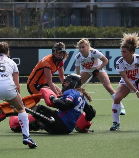 Vrouwen Oranje-Rood nog niet veilig na nieuwe nederlaag