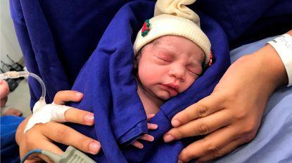 Primeur: eerste baby geboren die in baarmoeder van overleden donor groeide