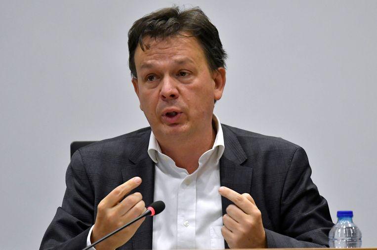 Groen-Kamerlid Stefaan Van Hecke. Beeld Photo News