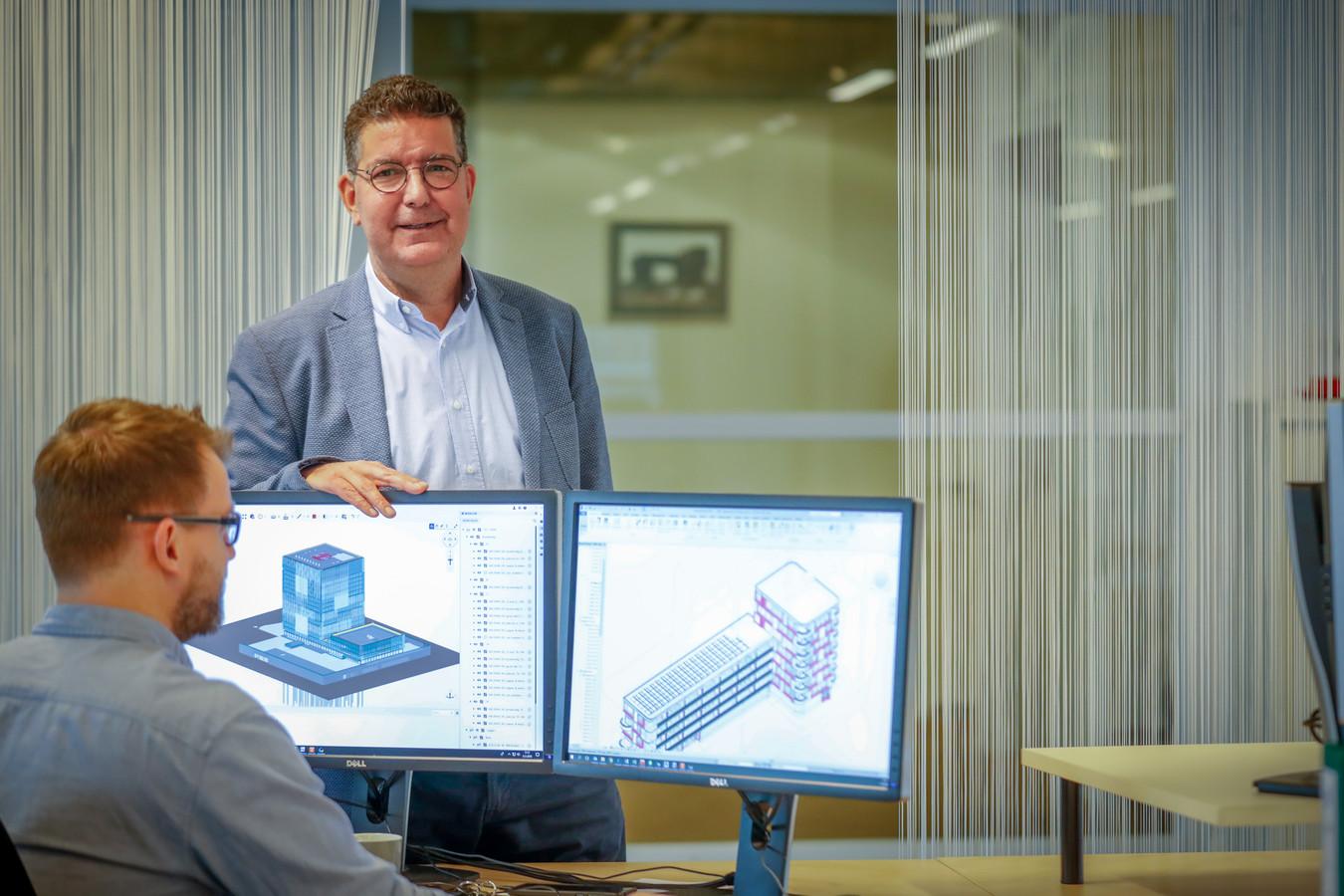 irecteur Curro Verhagen in nieuw pand van groeiende ingenieursgroep voor (hoog)bouwprojecten.