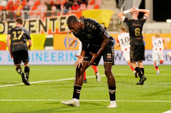 GA Eagles-aanvaller Maecky Fred Ngombo.
