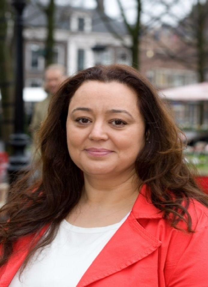 Het Utrechts PvdA-gemeenteraadslid Bouchra Dibi.