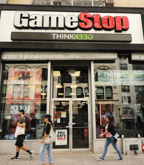 Beleggers op Wall Street maken elkaar gek met computergameketen GameStop