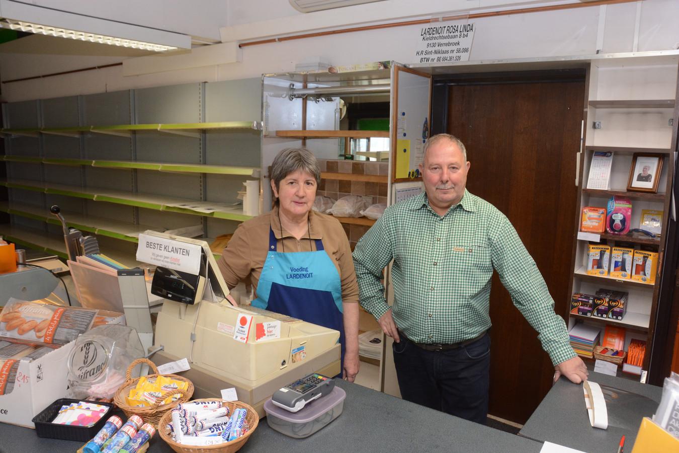 Linda en Michel nemen eind deze maand definitief afscheid van de buurtwinkel.