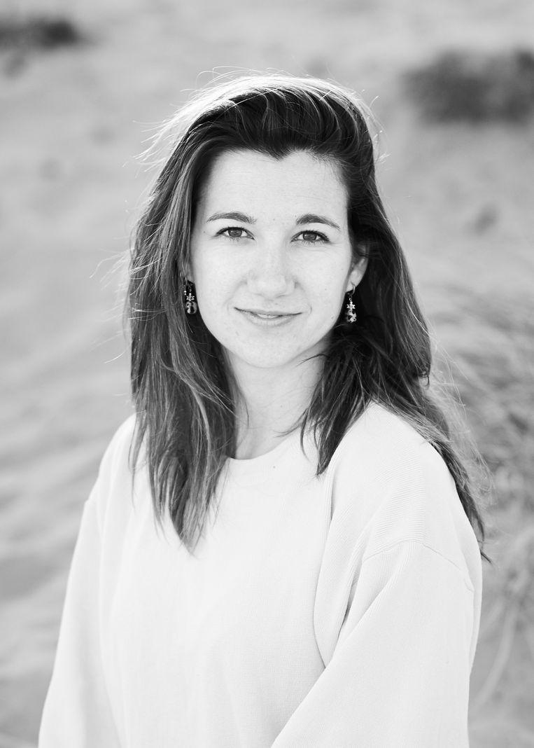 Lieke Kooij, kind- en jeugdpsycholoog, promoveert op onderzoek naar traumabehandeling bij kinderen en tieners aan het Amsterdam UMC. Beeld Eduardus Lee