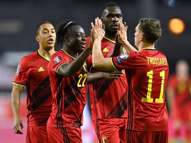 8-0! Rode Duivels hakken Wit-Rusland in de pan en springen naar leiding in WK-kwalificatiegroep