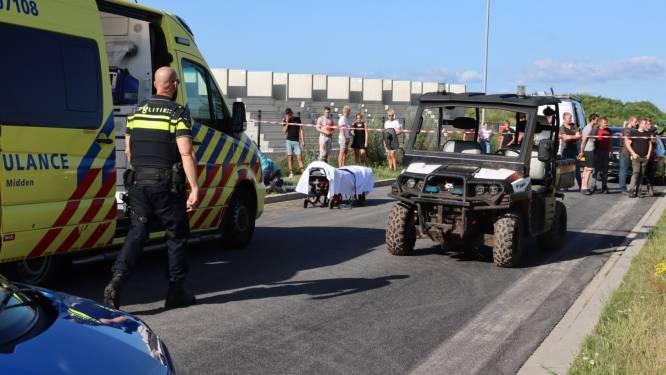 Voetganger zwaargewond na aanrijding met buggy in Barneveld