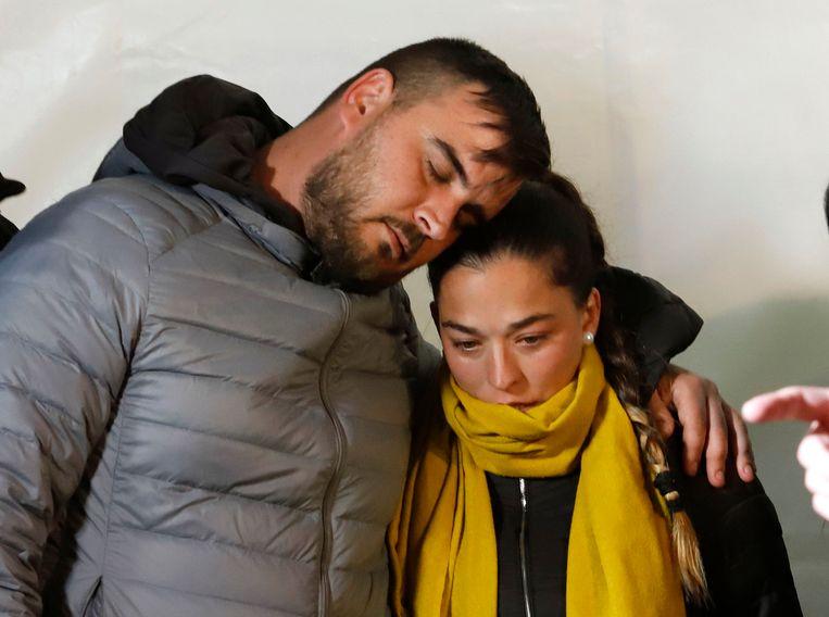 José Rosello en Victoria Garcia, de ouders van de 2-jarige peuter Julen.