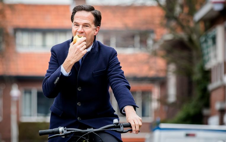 Minister-president Mark Rutte. Beeld Hollandse Hoogte /  ANP