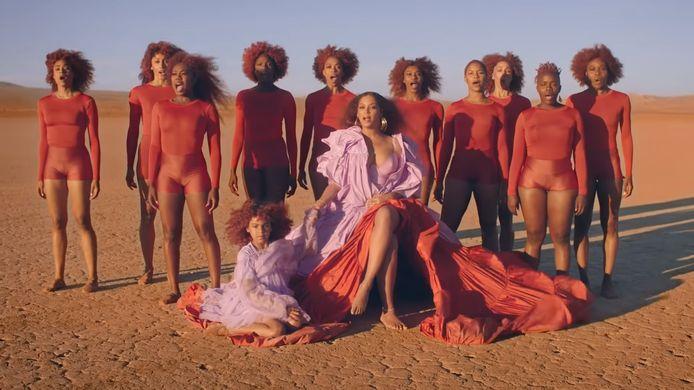 Beyoncé en Blue Ivy