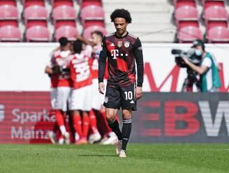Landstitel nog niet binnen voor Bayern: verrassend sterk Mainz klopt 'Rekordmeister' met 2-1