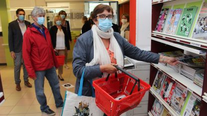 Zo ga je vanaf maandag terug naar bib in Meetjesland: handen ontsmetten, mandje nemen, en eenrichtingsverkeer