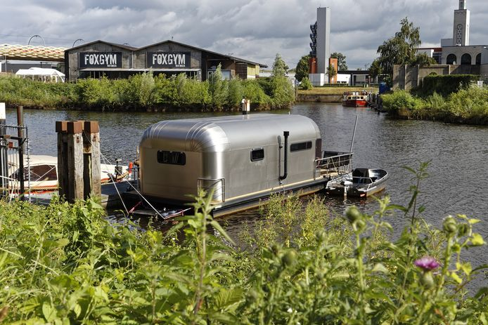The Coon lijkt op een Airstream-caravan.