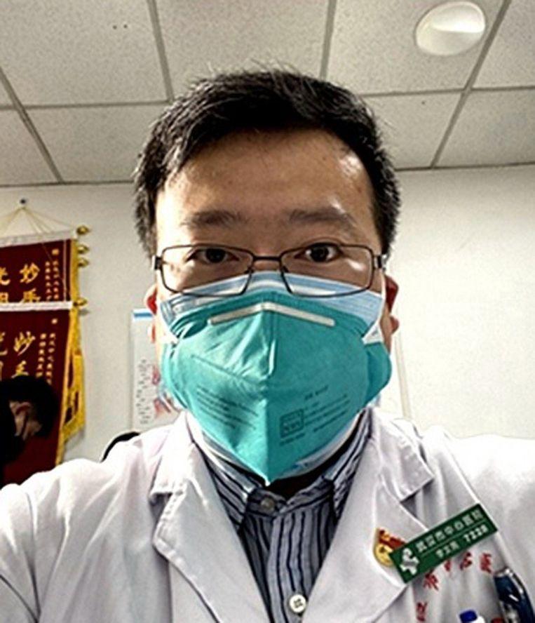 Dokter Li Wenliang. Beeld Photo News
