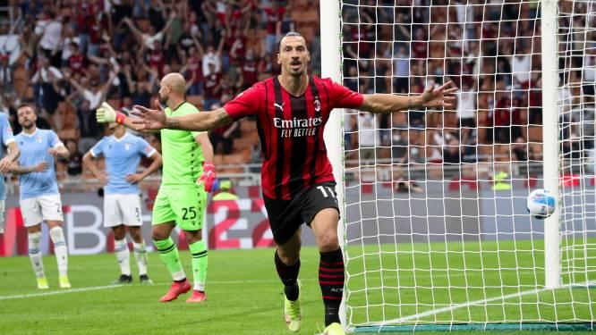 L'AC Milan domine la Lazio et poursuit son sans-faute, Ibrahimovic buteur pour son retour