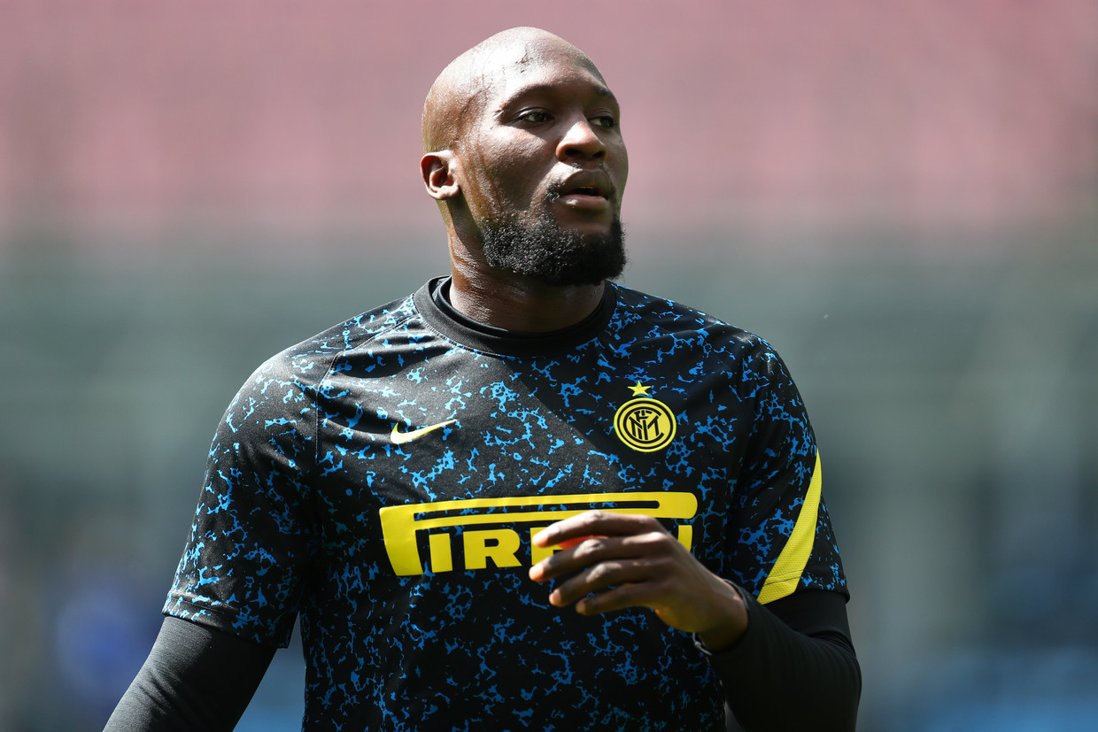 Inter-spits Romelu Lukaku. Beeld Photo News