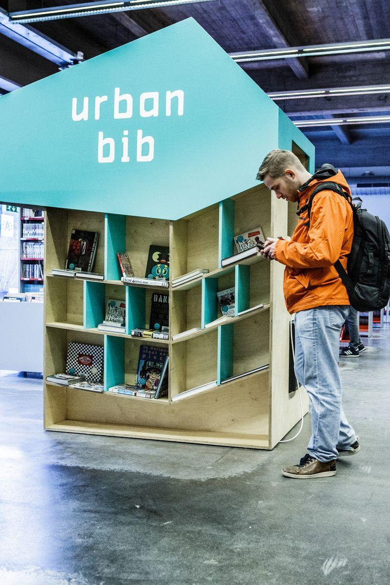 Er komen steeds meer nieuwe bibliotheken bij.  Beeld Bob Van Mol