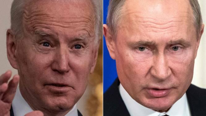 """Biden nodigt Poetin uit voor topconferentie """"in een derde land"""""""