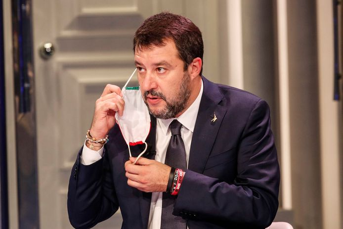 Matteo Salvini, leader de la Ligue