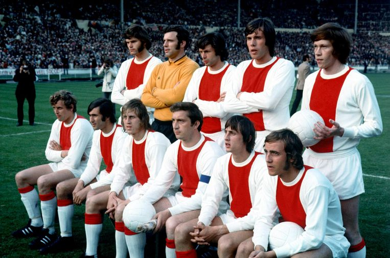'Magisch! Ajax hebben gezien in 1971, dat is hetzelfde als The Beatles live te hebben horen spelen.' Beeld null
