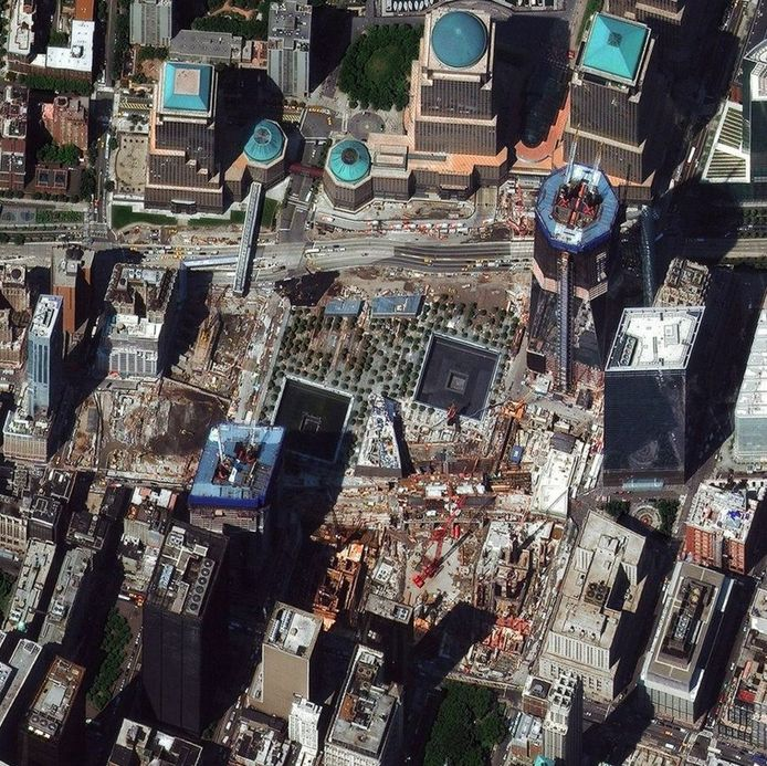 Ground Zero in New York. © Digitalglobe