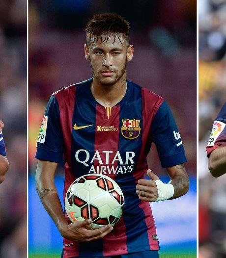 Overmars: Suárez, Neymar en Messi vormen droomaanval