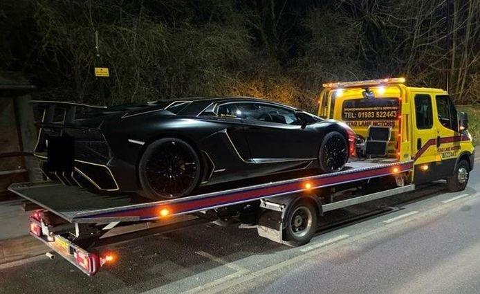 Lamborghini Aventador SV.