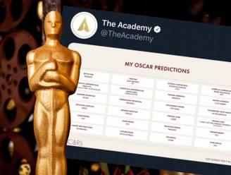 Hebben de Oscars alle winnaars per ongeluk zelf verklapt?