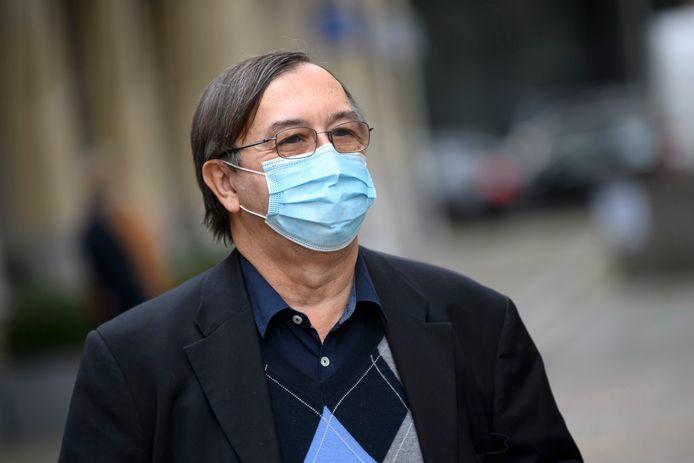 Yves Van Laethem, infectiologue et porte-parole interfédéral Covid-19.