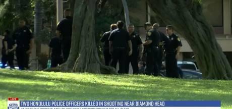 Schietpartij in Hawaï: 'twee agenten doodgeschoten, derde zwaargewond'