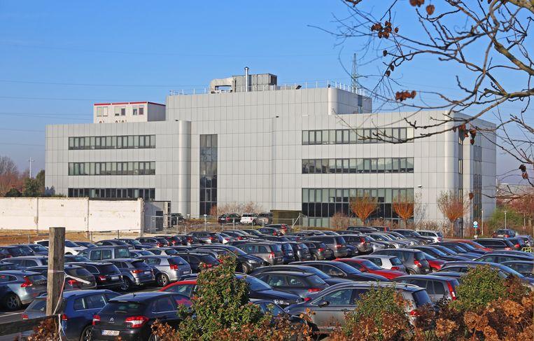 Het hoofdkwartier van De Persgroep Publishing langs de Brusselsesteeweg in Kobbegem.
